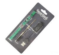 Wholesale Snoop Dogg starter kit electronic cigarettes wax pen Kit dry herbal vaporizer dry herb e cigs e cigarette starter kits