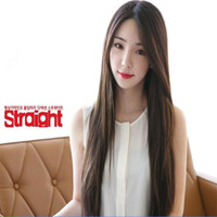 cheap wigs - cheap wigs synthetic lace front wig heat resistant straight cm long black female korean fashion hair
