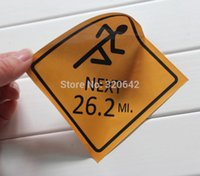beacon adhesives - custom customized logo printed vinyl material conspicuous beacon indicator sign printing stickers self adhesive signal stickers