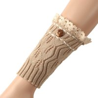 best boots for short legs - Hot Salw Best seller fashion Short Lace Knitting Leg Warmers Boot Cover for your honey Feb6