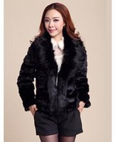 Wholesale fourrure Winter new Korean version of the small fragrant wind wool fur coat fox fur collar short paragraph female fur