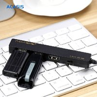 Cheap Wholesale-Newest Acasis Mobile Tablet PC Charging Cable OTG Micro USB HUB 3 Ports Simultaneous Charging Power Transmisson Cable