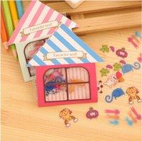 Wholesale DIY MINI Cute Kawaii Cartoon PVC Stickers for Dids Toy Diary Decoration Phone Scrapbooking Korean Stationery