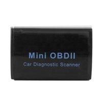 Wholesale Super Mini ELM327 V2 Bluetooth OBD2 OBDII Car Auto Diagnostic tool Scanner Android car detector engine indicator scan tool