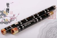 Cheap Wholesale-Exclusive sales give whistle bag overflow professional joint copper bamboo flute marketing instruments