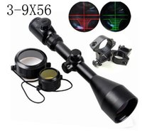 Wholesale Hunting x56 EG Optical Red and Green Illuminated Air Rifle Gun Optics Sniper Scope Sight mm Rail Mounts