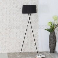 Wholesale NEW Personality floor lamp The study bedroom the head of a bed Cloth art floor lamp The sitting room office floor lamp