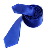 Wholesale Unisex Casual Necktie and Inch Satin Hanky Royal Blue IN STOCK order lt no track