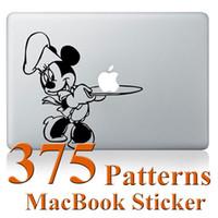 Wholesale Mac Book Sticker Mickey Deathly Hallows Minions Doraemon Laptop Skin Stickers For MacBook Pro Retina Air inch