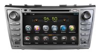 Android car audio dvd - Android Car DVD Player for Toyota Camry with GPS Navigation Radio Bluetooth AUX USB Audio Stereo