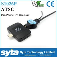 Wholesale SYTA DIGITAL Terrestrial ATSC TV Android Convertor Tuner RECEIVER Antenna for USA Korea Mexico S1026P