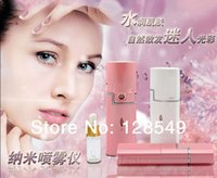 Wholesale New health monitors Hydro spa nano spray handy mist spray and facial steamer for skin moisturizing ultrasonic face care