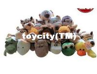 Wholesale 10 Kinds NICI Animal Soft Plush Stuffed Pencil Cases Bags Bag Good Quality to Ywe Selection toycity