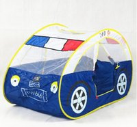 Cheap police car play tent Best police car kids beach tent