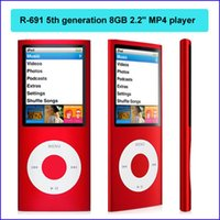 Wholesale Cheapest th generation GB MP4 player inch LCD Scroll Wheel MP Camera Fashionable Mp3 MP4 players R