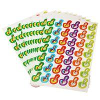 Wholesale New Colorful Thumbs Pattern Reward Stickers School Teacher Praise Children Kids Gift Toy