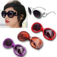 Wholesale Feitong Vintage UV400 Fashion Girl Classic Designer Retro Eyewear Eyeglasses Oversized Shades Sunglasses For Women
