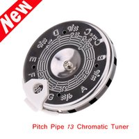 bass tuning notes - 13 Chromatic Guitar Bass Tuning Tuner Guitar Pitch Pipe C C Note Selector Alice A003AP PC C Tuner New Arrival