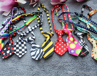 bell scarves - 200pcs Multicolor Pet Tie Dog Bow Ties Cat Triangle Scarves Pet Jewelry color g Polyester