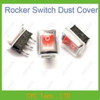 Wholesale Square Rocker Switch Waterproof Dust Cover Transparent Soft Material for A Power Switch