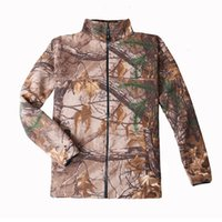 Wholesale Browning double fleece cardigan Mens warm breathable fleece wearing camouflage primer C151
