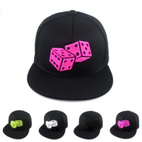 baseball rules - 2015 summer rubber dice designs hip hop baseball cap fashion casual bone snapback women men no rules chapeus casquette flat hat