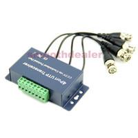 Precio de Balun pasivo de vídeo de 4 canales-Transmisor Receptor 1PC 4CH Balun video pasivo Para CCTV sobre cable UTP