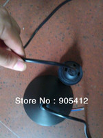 Wholesale e27 round lamp holder Max w power black body popular in Australia and Europe