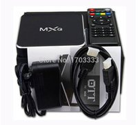 Wholesale 30Pcs Newest Metal M12 MXQ Original Quad Core Set Top Box H GB GB Android XMBC External Antenna HD K Smart TV Box
