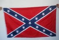 Wholesale 2015 New Printed Flag Confederate Rebel Civil War Flag National Polyester Flag X3FT D by DHL