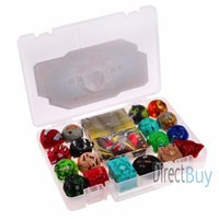 Wholesale 18 Mixed Baku gan Brawlers Metal Cards in Bakucase Box For Collection All Different Amazing Gift Set