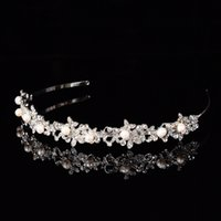 Wholesale 2016 Hot women Hair Accessries Jewelry Crystal Wedding Crown Cocktail Crown Wedding Party Bridesmaid Headband hair Accessories Cheap