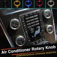 Wholesale Aluminium Alloy Auto Air Conditioning Knob Air Conditioning Knob Ring For Volvo S60 XC60 V60 S80 V40 ect