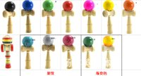 Wholesale Kendama Ball Japanese Traditional Wood Game Toy Education Gifts Hot Sale Fedex EMS Activity Gifts toys