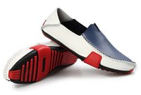 boat shoes - FG1509 New Spring Men s Fashion Boat Shoes Men Leather loafers Driving boats Shoes flats Casual Slip on shoes big size R1515