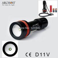 aa photography - Archon W17V D11V LMS Diving Photography Underwater Video LED Flashlight Torch flashlight dvr flashlight aa