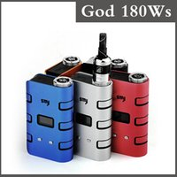 Wholesale Authentic smy god s w box mod Huge Watt W vv vw mechanical box mod run on vtc5 VTC4 battery fit aspire Atlantis Subtank