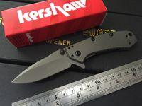 bead blast - Kershaw Cryo quot Bead Blasted Plain Blade Rick Hinderer Framelock Design