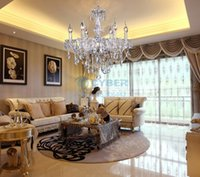 Wholesale Hot Sale Luxury Crystal Chandelier Ceiling Lamp Candle Lights b24 TK0480