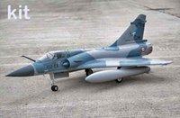 airplane kit rc - 2014 New Freewing Mirage2000 Mirage mm edf jet kit format RC aircraft airplane