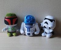 Star Wars Jouets 4 Styles Figurines 7 Pouces Master Yoda Stromtrooper Poupées Enfants jouets Peluches Nouveau