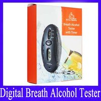 Wholesale Portable Breath Alcohol Tester with timer and keyring MOQ