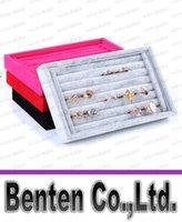 Wholesale LLFA4007 Jewelry Rings Display Show Case Organizer Tray Box