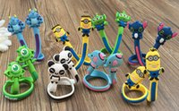 Wholesale 4000PCS HHA219 Factory Price Cartoon animals cable winder Mobile Earphone bobbin winder cable management in Stock