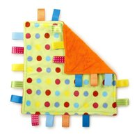 baby blanket taggies - Baby Comforting taggies Blanket Multifunctional baby taggies toys soft toddler Grasping