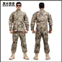 Wholesale US Army Combat Military Camouflage Uniform Suits Set Men Outdoor Work Sports Training Hunting Paintball Clothes Camo Clothing