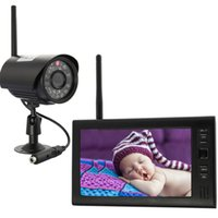 baby surveillance system - New TFT LCD G Channel Quad baby Camera with Wireless Security Camera System Video Surveillance System Baby Monitor