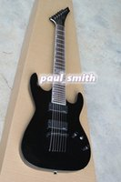 Wholesale New arrive Electric guitar LTD string guitar special shape fashion and cool bright black high quality EMG pickup Bestselling