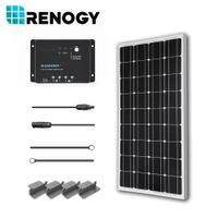 pv solar panel - Solar Panel W Watt V PV Off Grid Kit for RV Boat Battery Charger