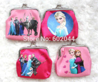 baker supplies - High quality cute Coin Purse Wallet Elsa Anna Olaf characteristic Party Supplies Gifts gift baker